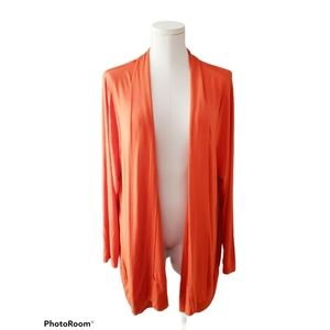 In Every Story Orange Cardigan A26